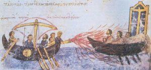 Il Fuoco Greco nelle raffigurazione bizantine