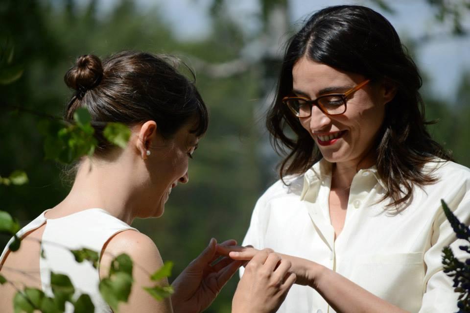 Matrimonio Omosessuale In Italia : Lei disse si ingrid e lorenza sono spose anche in italia