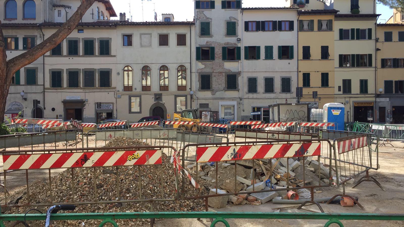 Firenze piazza dei ciompi a che gioco stiamo giocando for Piazza dei ciompi