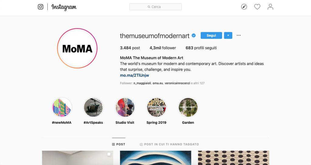 musei instagram