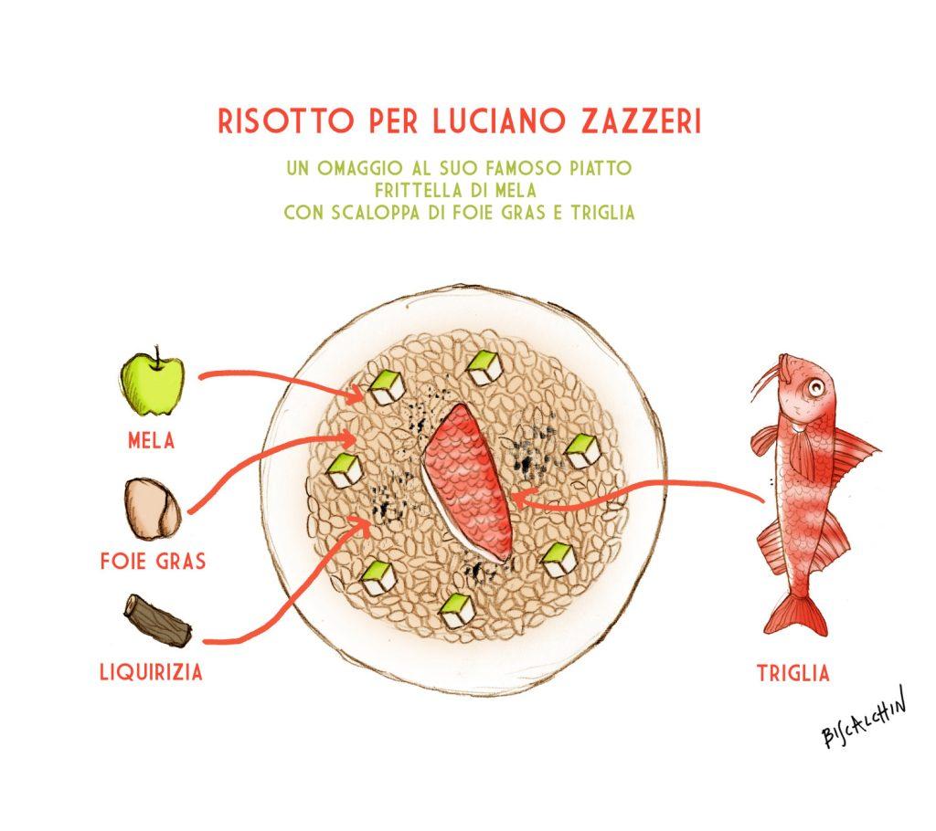 risotto per Luciano Zazzeri