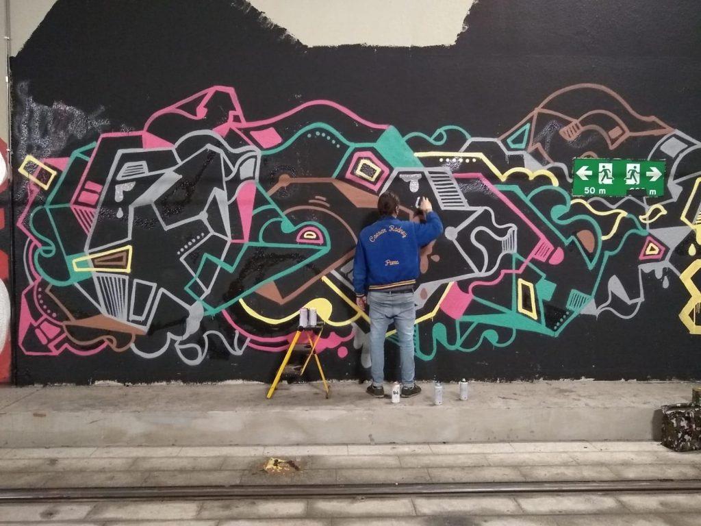 Street art firenze tramvia