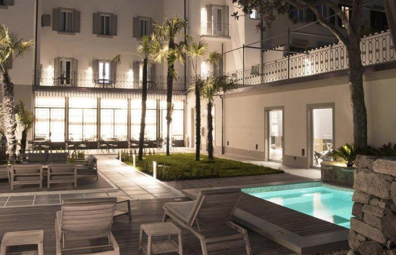 hotel con pool area firenze