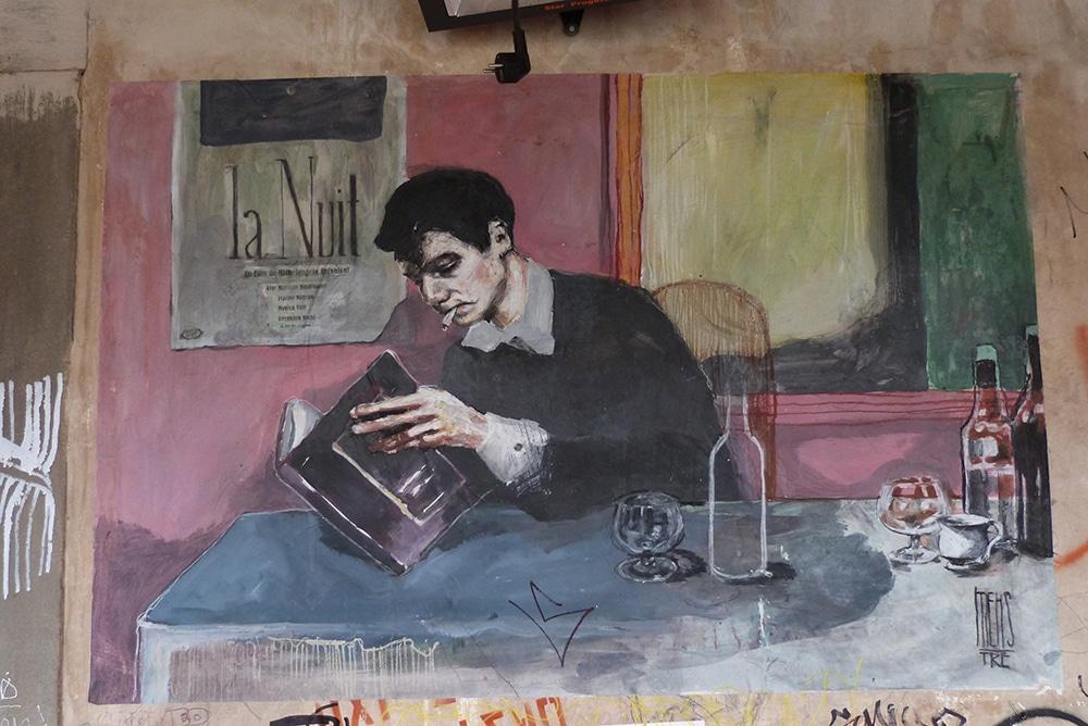 Mehstre street artist fiorentino