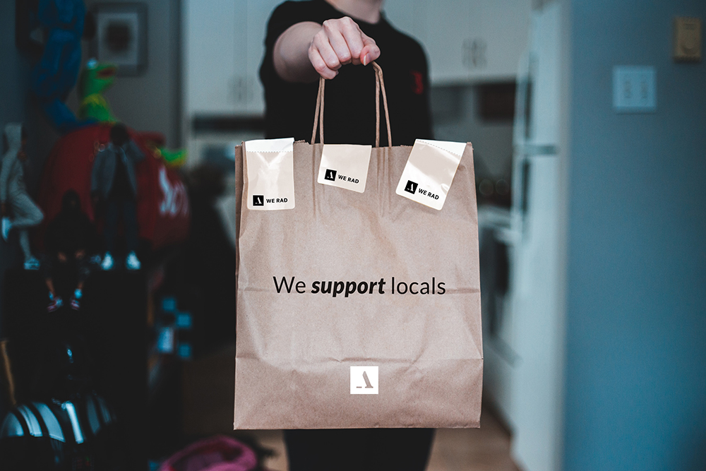 support your locals delivery firenze