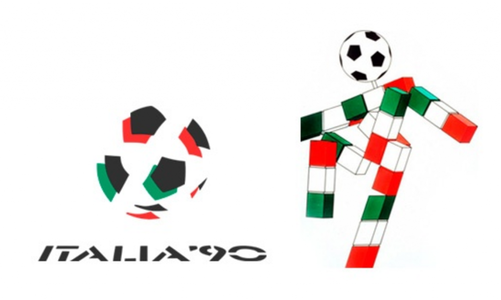 """""""Ciao"""", la mascotte di Italia 90"""