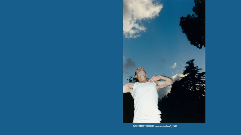 Wolfgang Tillmans - Man with clouds