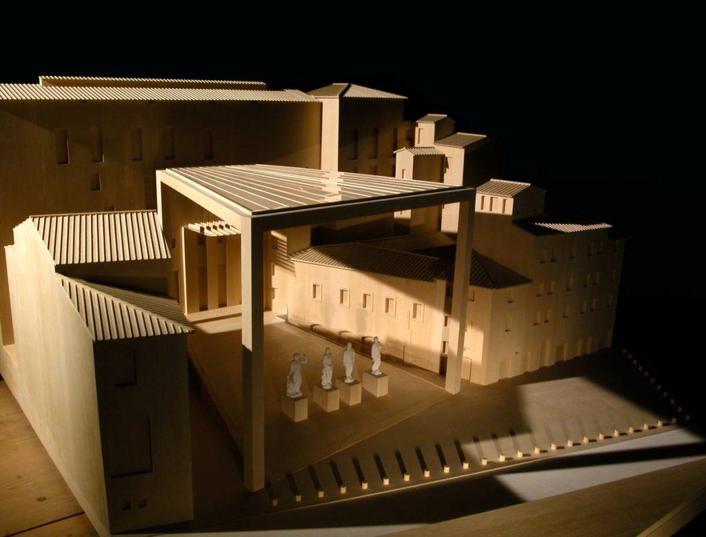 loggia isozaki museo della lingua