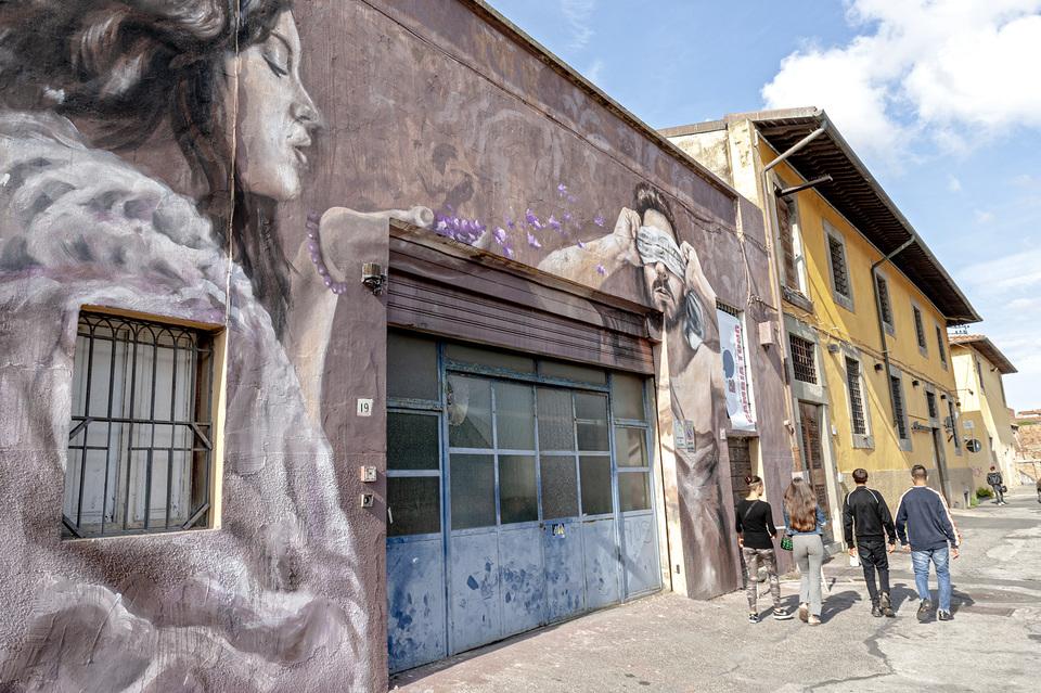 murales leggi livornine