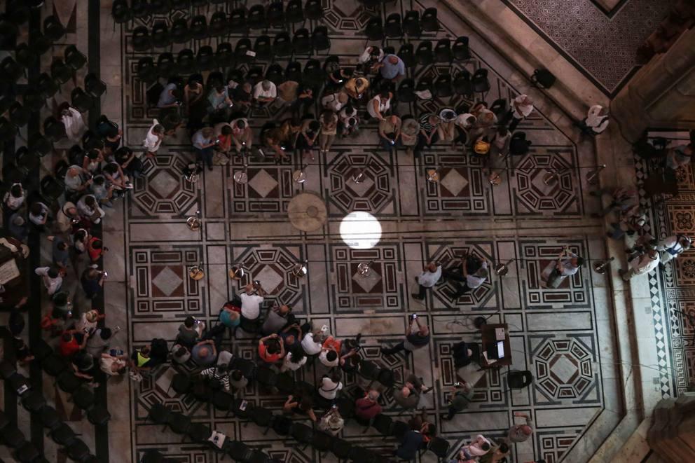 Lo Gnomone del centro storico di Firenze