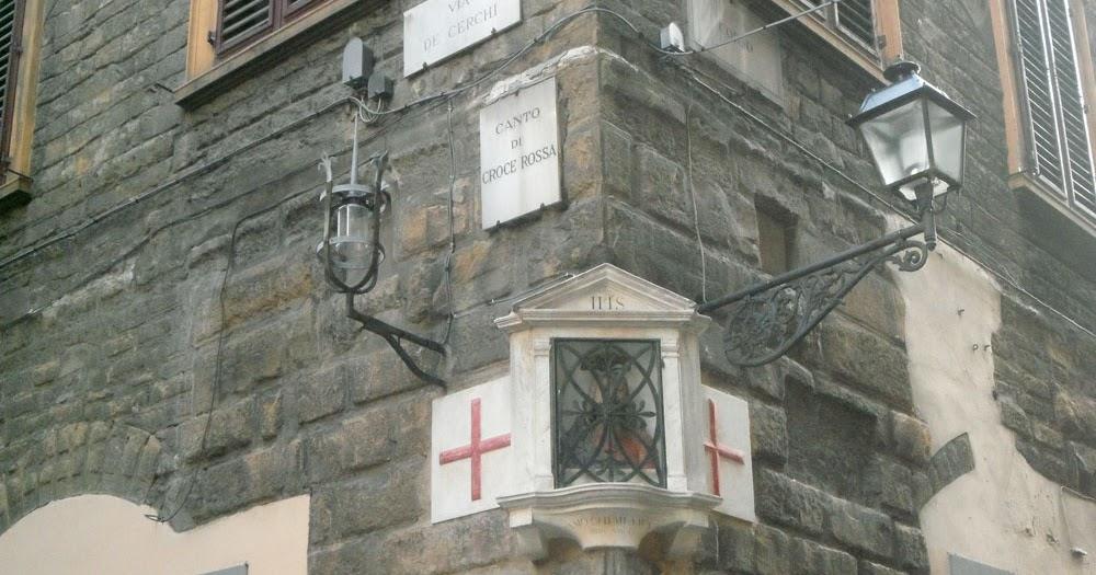 Canto di Croce Rossa a Firenze