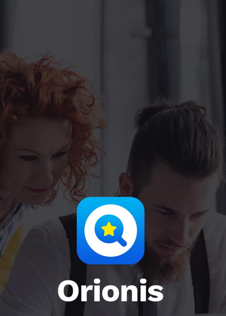 Orionis app, il mondo delle startup è al centro del progetto.
