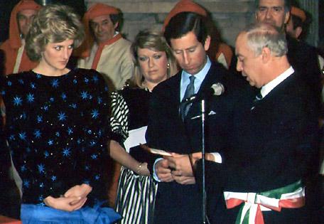 Carlo e Diana a Firenze