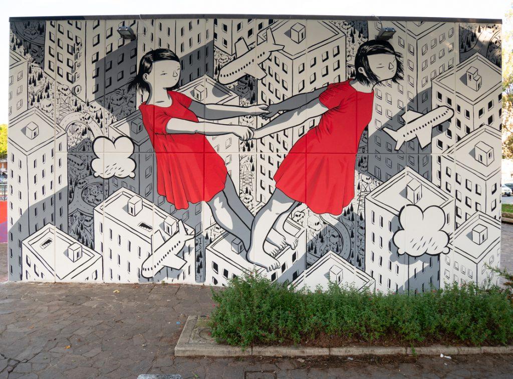 milo murales scandicci