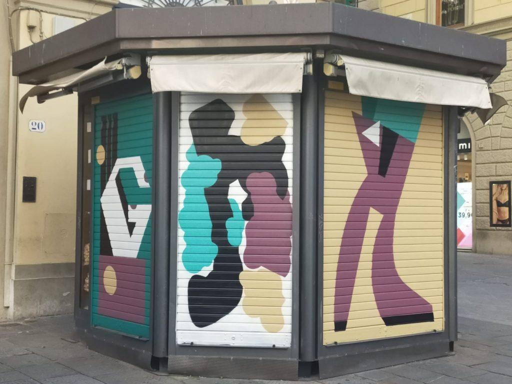 Streetart Edicole Firenze