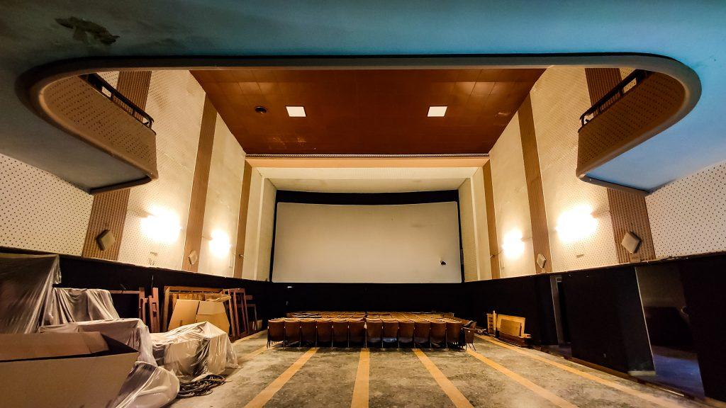 Rignano sull'Arno. Una foto del Cinema-Teatro Bruschi oggi.