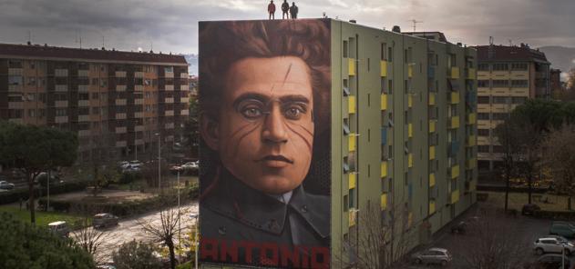 murales gramsci jorit firenze