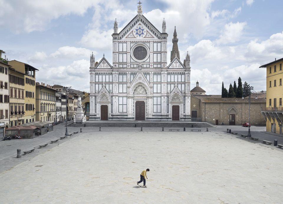 Firenze senza turisti.
