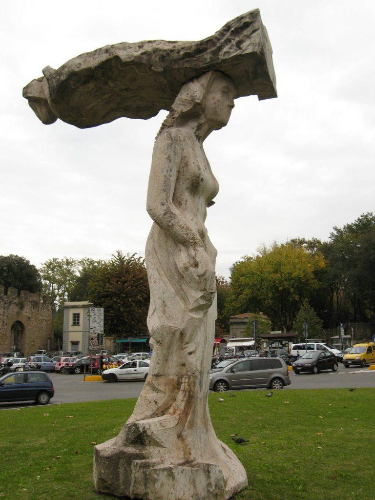 Statua Porta Romana