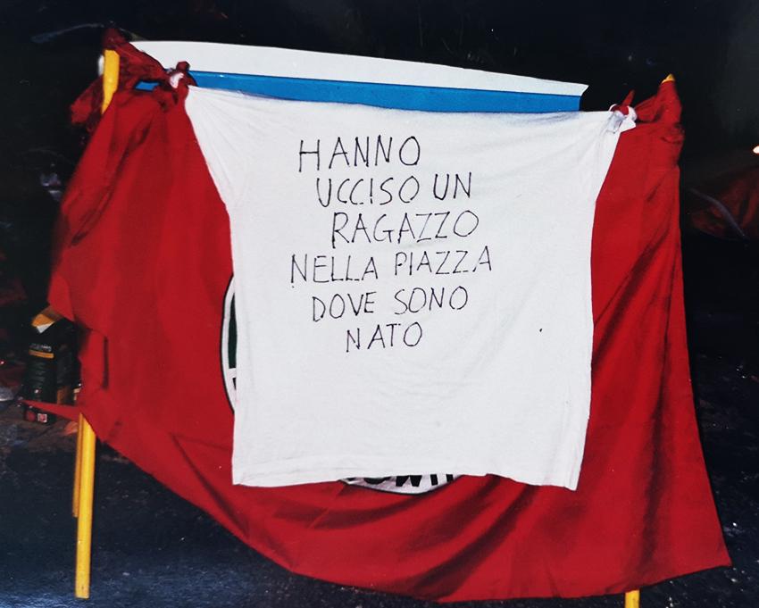 piazza Alimonda Genova G8 2001