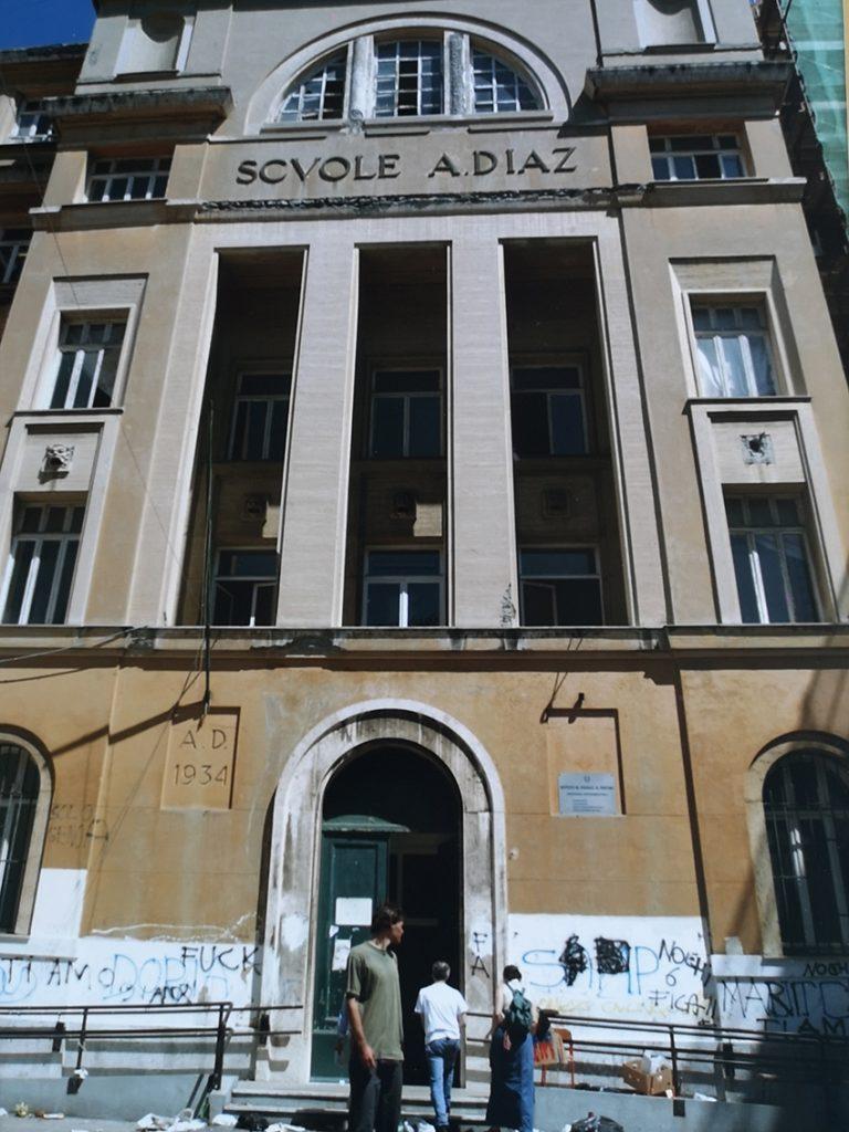 Scuola Diaz Genova, G8