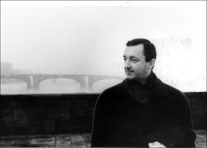Piero Umiliani, fotografia in bianco e nero.